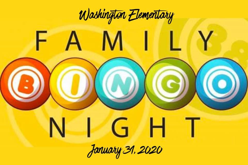 Washington's Annual Bingo Night is quickly approaching!  It is scheduled for Friday, January 31st.  More information to come...