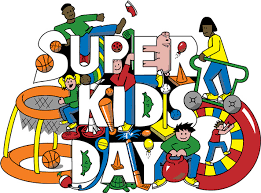 Super Kids Day is Friday, May 17th!  Make sure your child is dressed for outdoor games and fun!