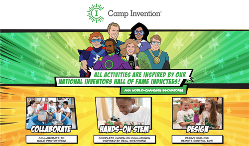 Camp Invention promo image
