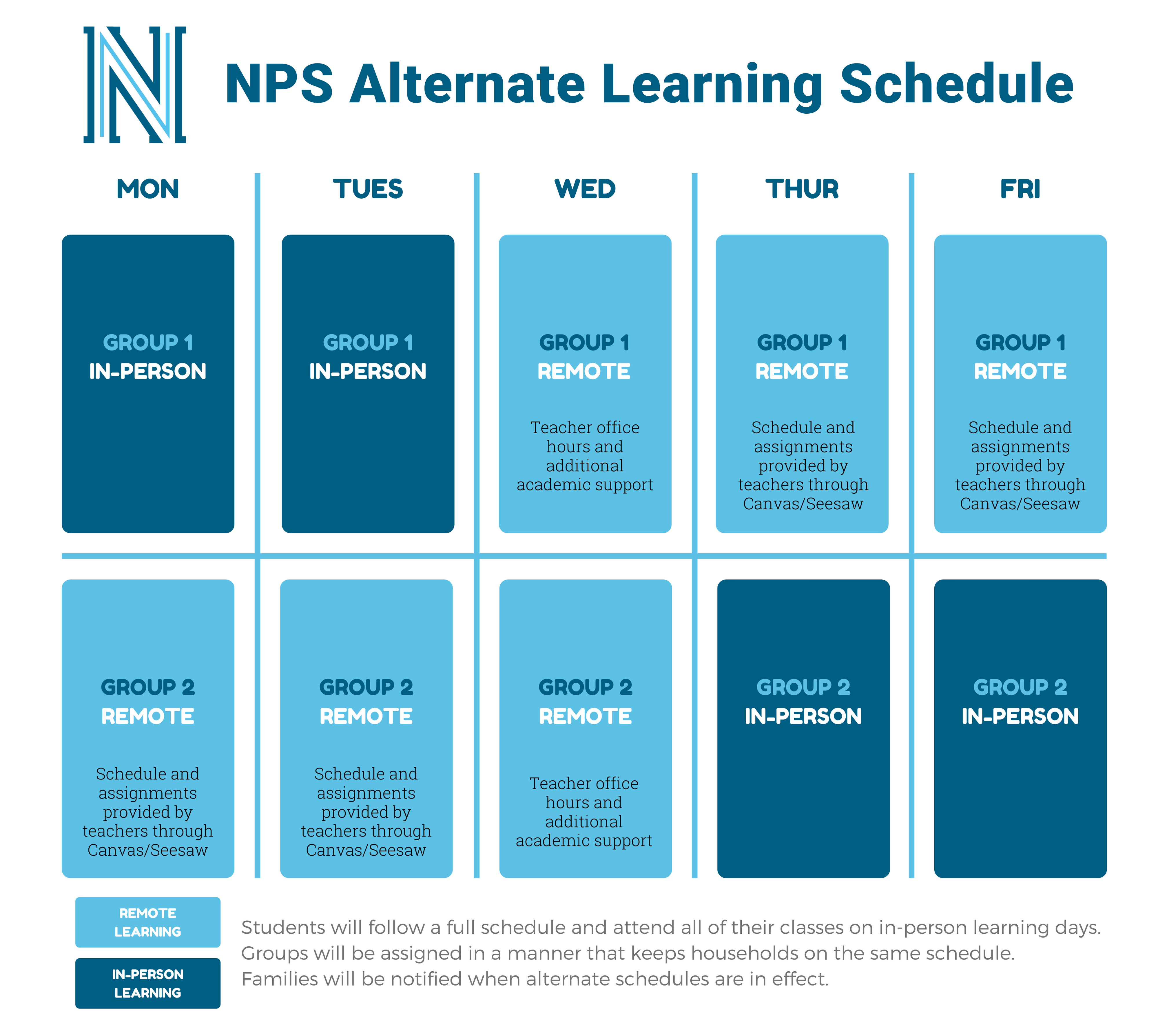 Alternate Learning Schedule
