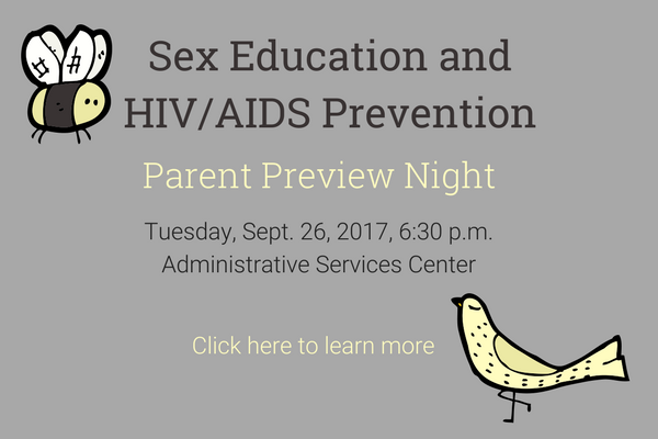 Parent Preview Night graphic