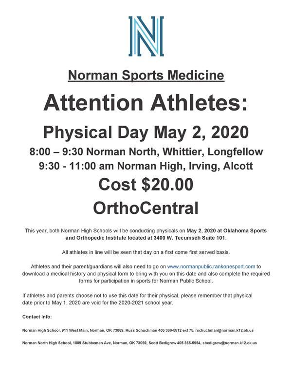 Physical Day Flyer Information