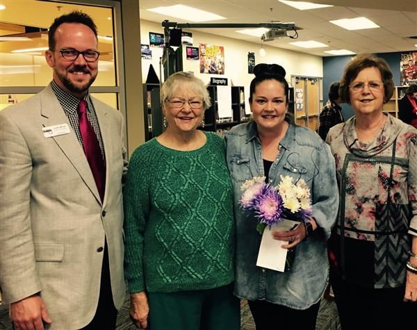 Jenny Howard honored as SPED Teacher of the Year
